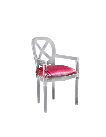 Plexi-Craft_Louis-Dining-Chair-with-Arms_Main
