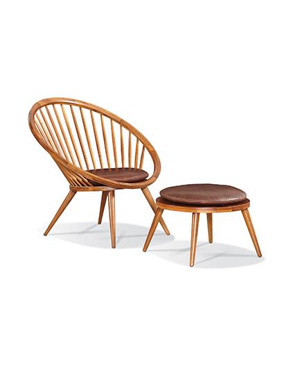 Sherrill-Furniture_Laurent-Chair-and-Ottoman_Main