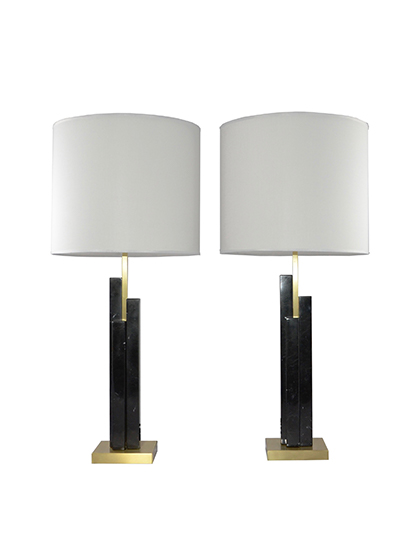 main_cosulich_interiors_and_antiques_products_new_york_design_bespoke_art_deco_design_skyline_pair_black_marble_satin_brass_table_lamp