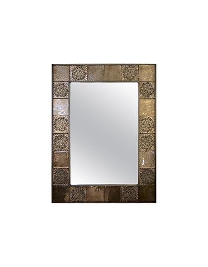main_cosulich_interiors_and_antiques_products_new_york_design_bespoke_italian_smoked_amber_mirror_murano_glass_geometric_bronze_tiled_mirror