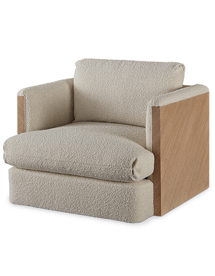 Combed Lounge Chair Main Image