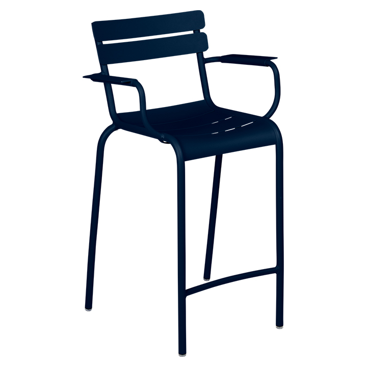 Fermob_Luxembourg High Armchair_Gallery Image 18_Deep Blue