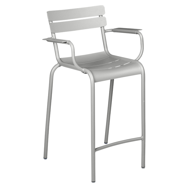 Fermob_Luxembourg High Armchair_Gallery Image 19_Steel Grey