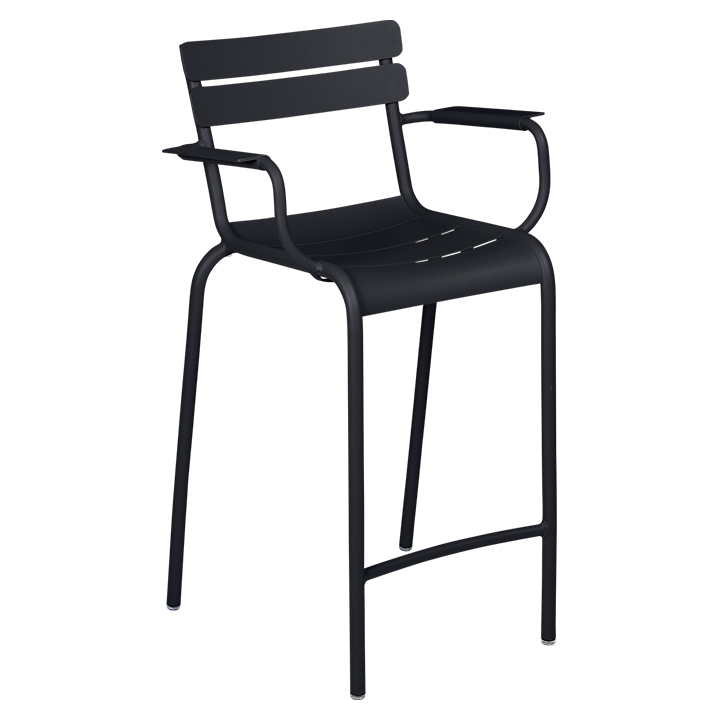 Fermob_Luxembourg High Armchair_Gallery Image 21_Anthracite