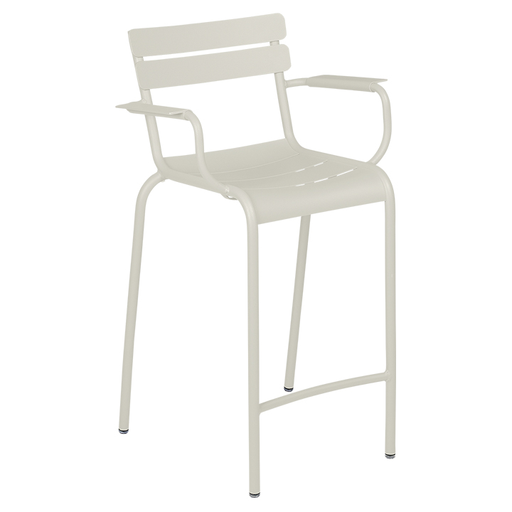Fermob_Luxembourg High Armchair_Gallery Image 23_Clay Grey