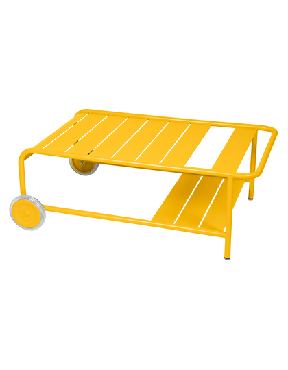 Fermob_Luxembourg Low Table with Casters_Main Image