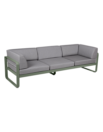 Bellevie Canape Club 3 Seater Flannel Grey_Main Image