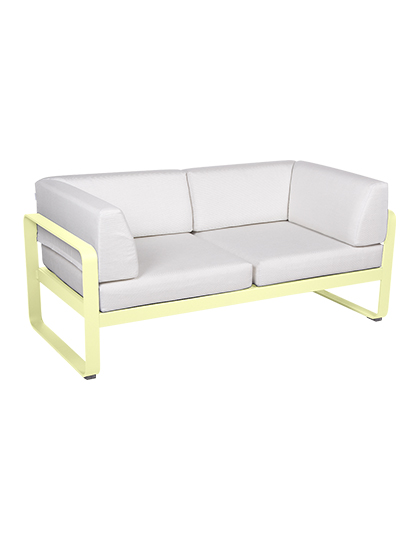 Fermob_Bellevie Canape Club 2 Seater Off White_Main Image